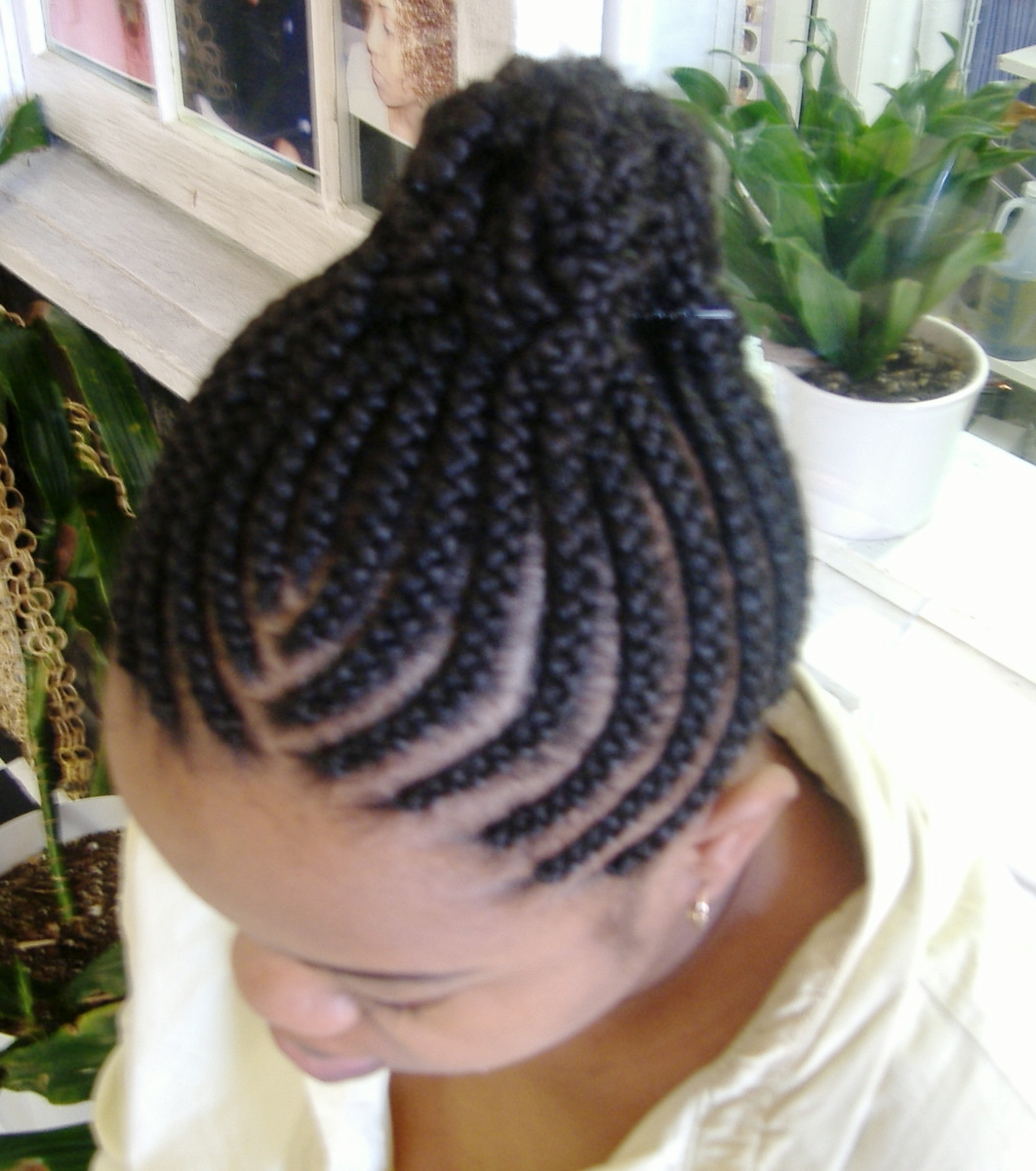 African Goddess Braids Cornrows