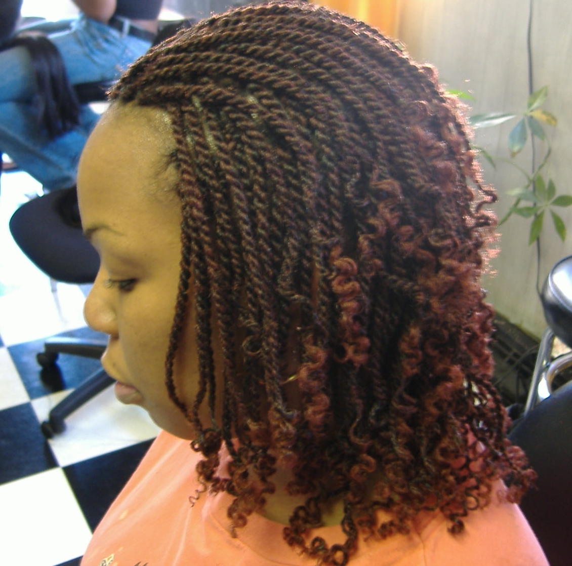 Kinky Twists Vs Senegalese Twists | Short Hairstyle 2013
